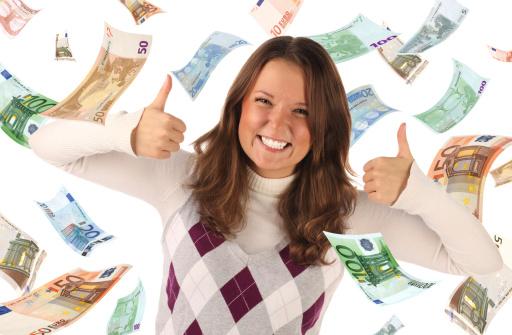 Heute noch 800 Euro Bargeld schnell aufs Konto