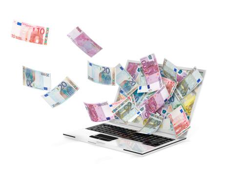 Heute 450 Euro Geld Bargeld bekommen